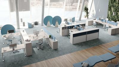 Een goede kantoorinrichting voor maximale productiviteit